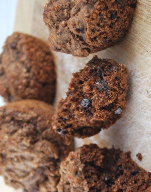 Double Chocolate Bran Muffins