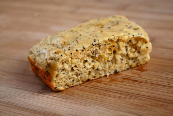 Lemon Poppy Protein Bars