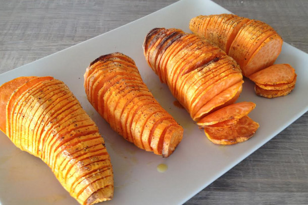 Super Crispy Oven Baked Sweet Potatoes