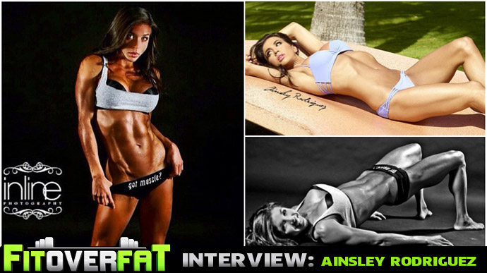 Ainsley Rodriguez Fitness Model