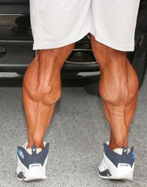 Crazy Calf Muscles