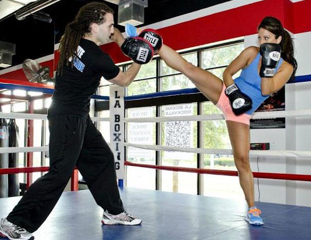Jessica Jessie Boxing