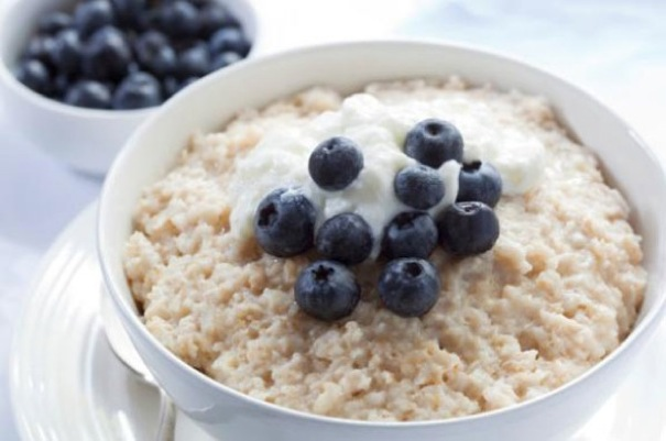 Oatmeal Blueberries